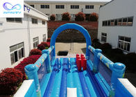 Giant outdoor Inflatable ocean park water slide with bounce house for rental or party